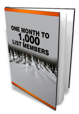 Product picture 1 Month 1000 Members- 1000 List members in less than a month
